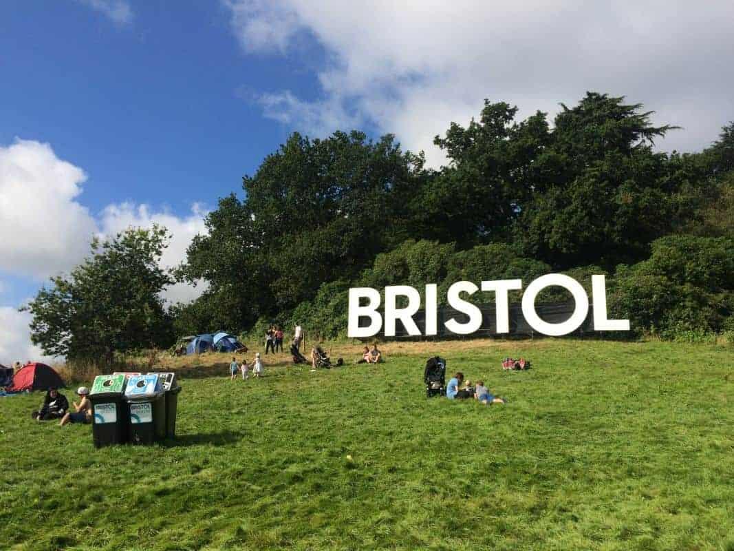 Bristol Balloon Fiesta Waste